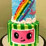 Cocomelon Tiered Cake