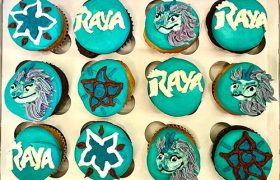Raya and the Last Dragon Cupcakes