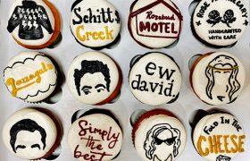 Schitt's Creek Cupcakes