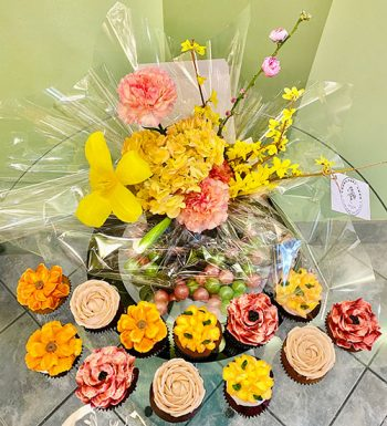 Flowers and Cupcakes Package