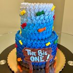 Fish Tiered Cake - Front