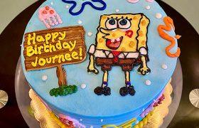 SpongeBob SquarePants Layer Cake - Top