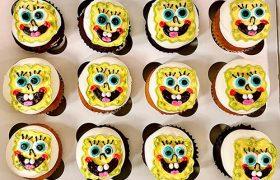 Spongebob Square Pants Cupcakes