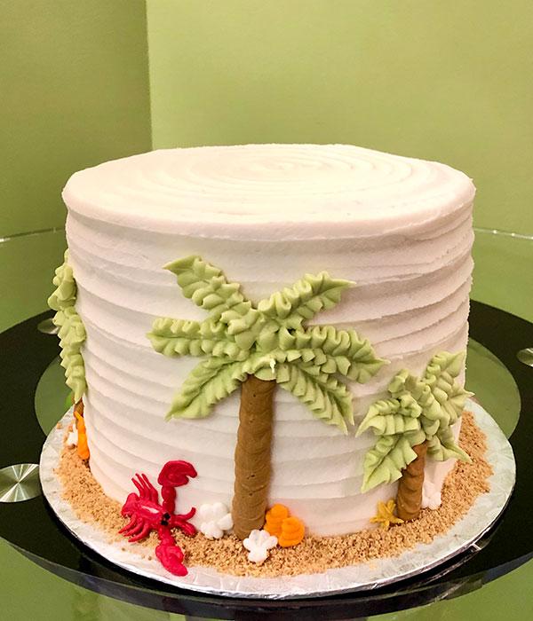 Island Oasis Layer Cake
