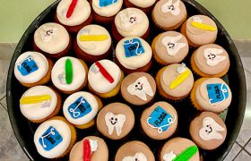 Dentist Cupcake Party Tray