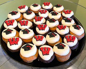Graduation Cupcake Party Tray - University of Wisconsin-Madison