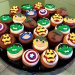 Marvel Superhero Cupcake Party Tray