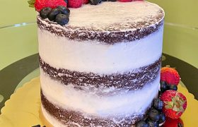 Berry Naked Layer Cake - Assorted Berries