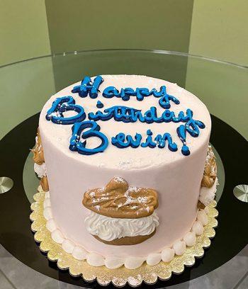 Cream Puff Layer Cake - Top