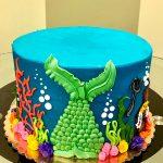 Little Mermaid Layer Cake - Side
