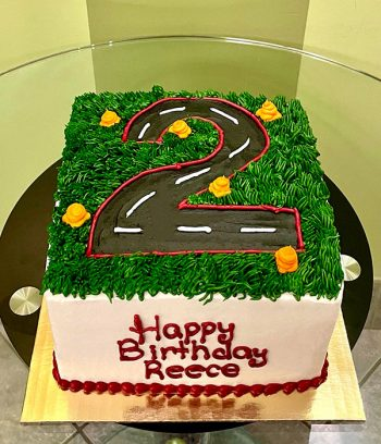 Race Track Layer Cake - Top