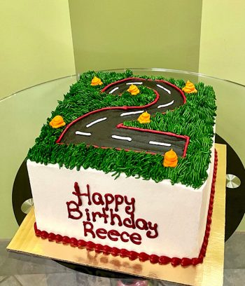 Race Track Layer Cake - Front