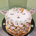 Baby Goat Layer Cake - Top