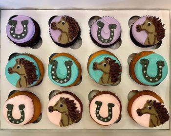 Equestrian Cupcakes