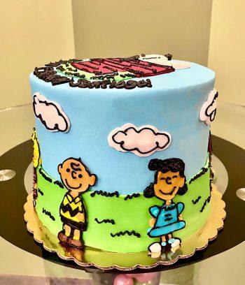 Peanuts Layer Cake - Side