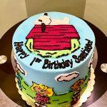 Peanuts Layer Cake - Top