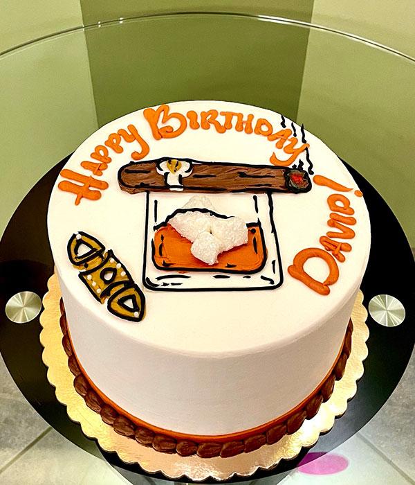 Cigar Layer Cake
