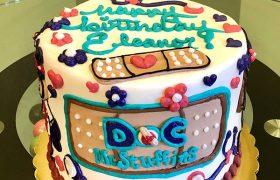 Doc McStuffins Character Layer Cake