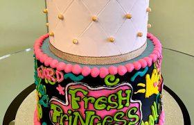 Fresh Princess Tiered Cake