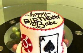 Casino Layer Cake - Side